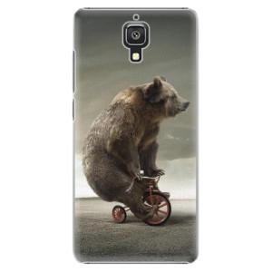 Plastové pouzdro iSaprio Bear 01 na mobil Xiaomi Mi4