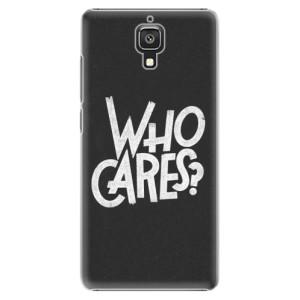 Plastové pouzdro iSaprio Who Cares na mobil Xiaomi Mi4