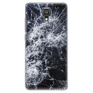 Plastové pouzdro iSaprio Cracked na mobil Xiaomi Mi4