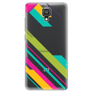 Plastové pouzdro iSaprio Color Stripes 03 na mobil Xiaomi Mi4