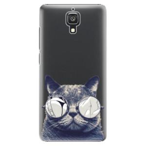 Plastové pouzdro iSaprio Crazy Cat 01 na mobil Xiaomi Mi4