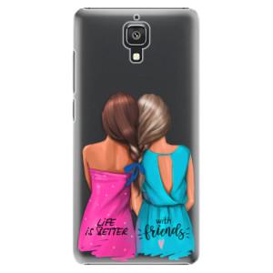 Plastové pouzdro iSaprio Best Friends na mobil Xiaomi Mi4