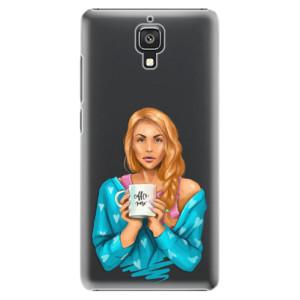 Plastové pouzdro iSaprio Coffe Now Redhead na mobil Xiaomi Mi4