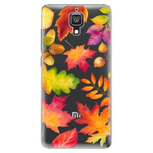 Plastové pouzdro iSaprio Autumn Leaves 01 na mobil Xiaomi Mi4