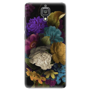 Plastové pouzdro iSaprio Dark Flowers na mobil Xiaomi Mi4