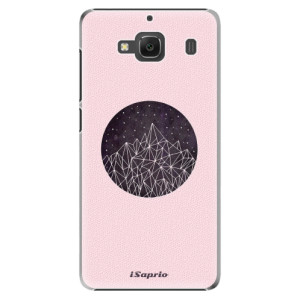 Plastové pouzdro iSaprio Digital Mountains 10 na mobil Xiaomi Redmi 2