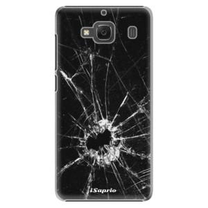 Plastové pouzdro iSaprio Broken Glass 10 na mobil Xiaomi Redmi 2