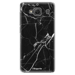 Plastové pouzdro iSaprio Black Marble 18 na mobil Xiaomi Redmi 2