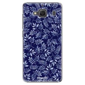 Plastové pouzdro iSaprio Blue Leaves 05 na mobil Xiaomi Redmi 2