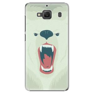 Plastové pouzdro iSaprio Angry Bear na mobil Xiaomi Redmi 2