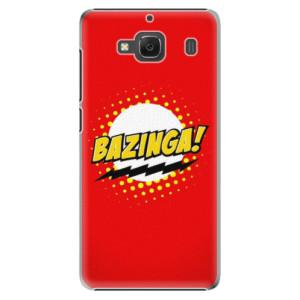 Plastové pouzdro iSaprio Bazinga 01 na mobil Xiaomi Redmi 2