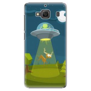 Plastové pouzdro iSaprio Alien 01 na mobil Xiaomi Redmi 2