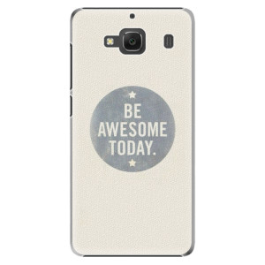 Plastové pouzdro iSaprio Awesome 02 na mobil Xiaomi Redmi 2