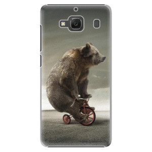 Plastové pouzdro iSaprio Bear 01 na mobil Xiaomi Redmi 2