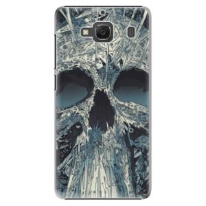 Plastové pouzdro iSaprio Abstract Skull na mobil Xiaomi Redmi 2