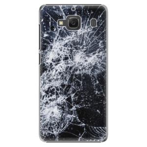 Plastové pouzdro iSaprio Cracked na mobil Xiaomi Redmi 2