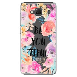 Plastové pouzdro iSaprio BeYouTiful na mobil Xiaomi Redmi 2
