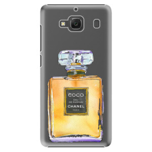 Plastové pouzdro iSaprio Chanel Gold na mobil Xiaomi Redmi 2