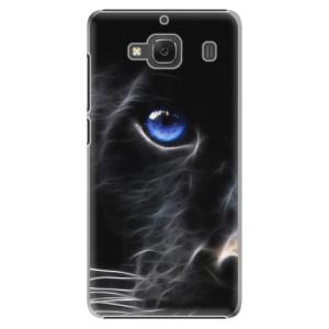 Plastové pouzdro iSaprio Black Puma na mobil Xiaomi Redmi 2