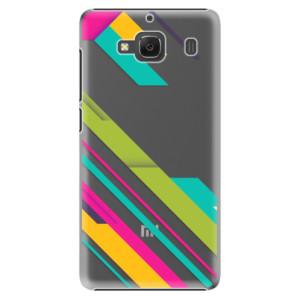 Plastové pouzdro iSaprio Color Stripes 03 na mobil Xiaomi Redmi 2