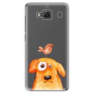 Plastové pouzdro iSaprio Dog And Bird na mobil Xiaomi Redmi 2