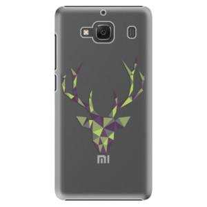 Plastové pouzdro iSaprio Deer Green na mobil Xiaomi Redmi 2
