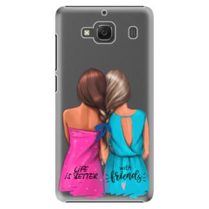 Plastové pouzdro iSaprio Best Friends na mobil Xiaomi Redmi 2
