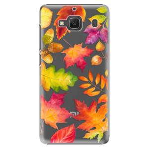 Plastové pouzdro iSaprio Autumn Leaves 01 na mobil Xiaomi Redmi 2