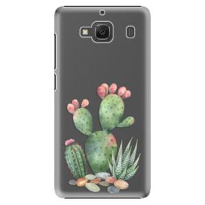Plastové pouzdro iSaprio Cacti 01 na mobil Xiaomi Redmi 2