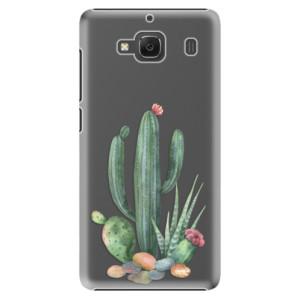 Plastové pouzdro iSaprio Cacti 02 na mobil Xiaomi Redmi 2