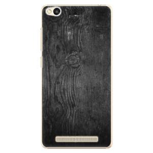Plastové pouzdro iSaprio Black Wood 13 na mobil Xiaomi Redmi 3