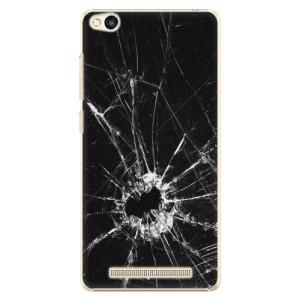 Plastové pouzdro iSaprio Broken Glass 10 na mobil Xiaomi Redmi 3