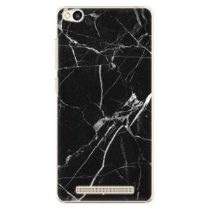 Plastové pouzdro iSaprio Black Marble 18 na mobil Xiaomi Redmi 3