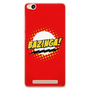 Plastové pouzdro iSaprio Bazinga 01 na mobil Xiaomi Redmi 3
