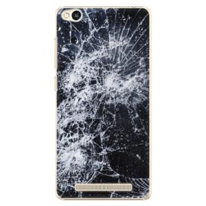 Plastové pouzdro iSaprio Cracked na mobil Xiaomi Redmi 3