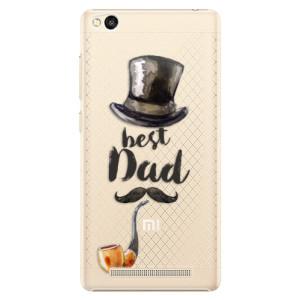 Plastové pouzdro iSaprio Best Dad na mobil Xiaomi Redmi 3