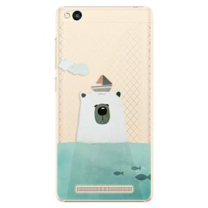 Plastové pouzdro iSaprio Bear With Boat na mobil Xiaomi Redmi 3