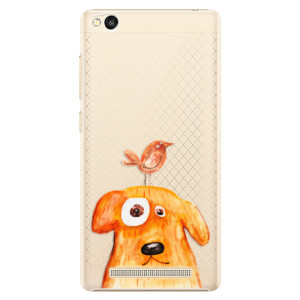 Plastové pouzdro iSaprio Dog And Bird na mobil Xiaomi Redmi 3