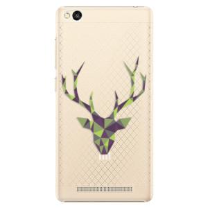 Plastové pouzdro iSaprio Deer Green na mobil Xiaomi Redmi 3