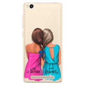 Plastové pouzdro iSaprio Best Friends na mobil Xiaomi Redmi 3