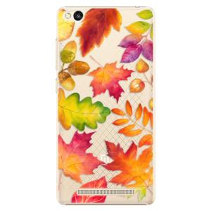 Plastové pouzdro iSaprio Autumn Leaves 01 na mobil Xiaomi Redmi 3