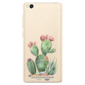 Plastové pouzdro iSaprio Cacti 01 na mobil Xiaomi Redmi 3