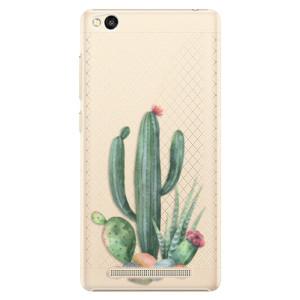 Plastové pouzdro iSaprio Cacti 02 na mobil Xiaomi Redmi 3