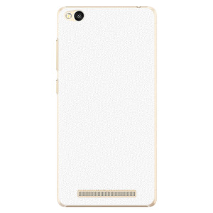 Plastové pouzdro iSaprio 4Pure bílé na mobil Xiaomi Redmi 3