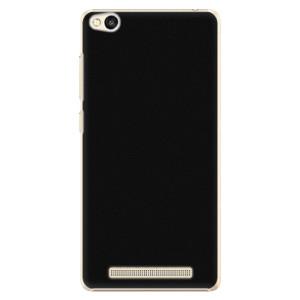 Plastové pouzdro iSaprio 4Pure černé na mobil Xiaomi Redmi 3