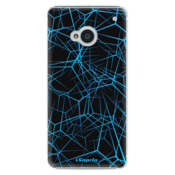 Plastové pouzdro iSaprio Abstract Outlines 12 na mobil HTC One M7 (Plastový obal, kryt, pouzdro iSaprio Abstract Outlines 12 na mobilní telefon HTC One M7)