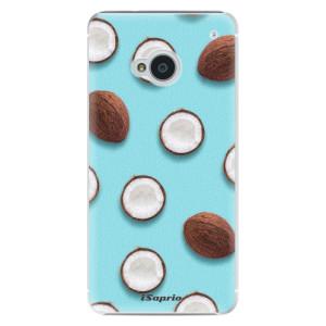 Plastové pouzdro iSaprio Coconut 01 na mobil HTC One M7
