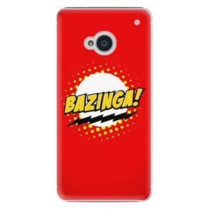 Plastové pouzdro iSaprio Bazinga 01 na mobil HTC One M7