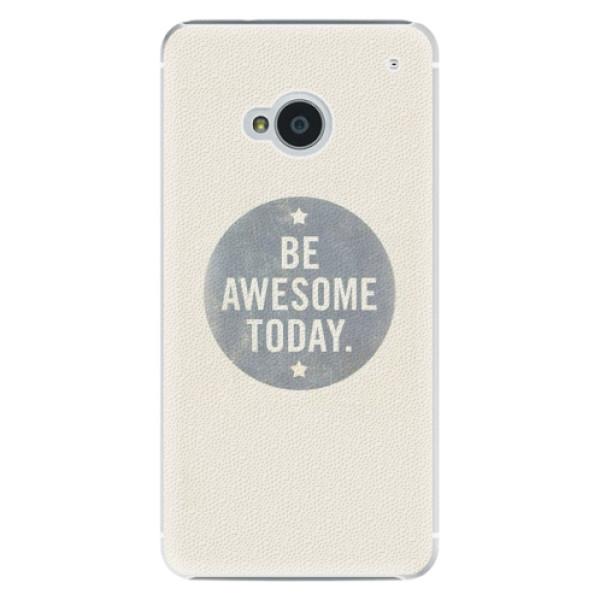 Plastové pouzdro iSaprio Awesome 02 na mobil HTC One M7 (Plastový obal, kryt, pouzdro iSaprio Awesome 02 na mobilní telefon HTC One M7)