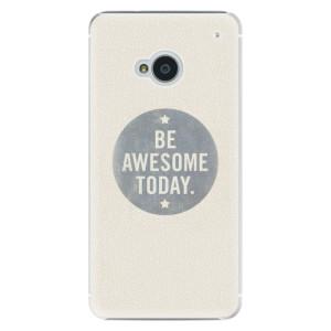 Plastové pouzdro iSaprio Awesome 02 na mobil HTC One M7
